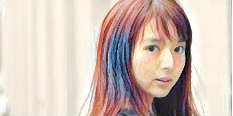 成美 髪型 福田